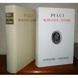 Luigi Pulci, MORGANTE E...