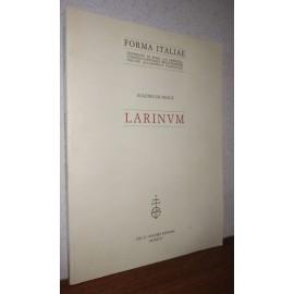 Eugenio De Felice, LARINUM....