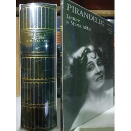 Pirandello, Lettere a Marta...