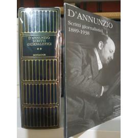 D'Annunzio, Scritti...