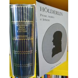HÖLDERLIN, Prose, teatro e...