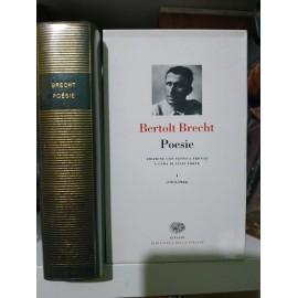 BRECHT Bertold, Poesie...